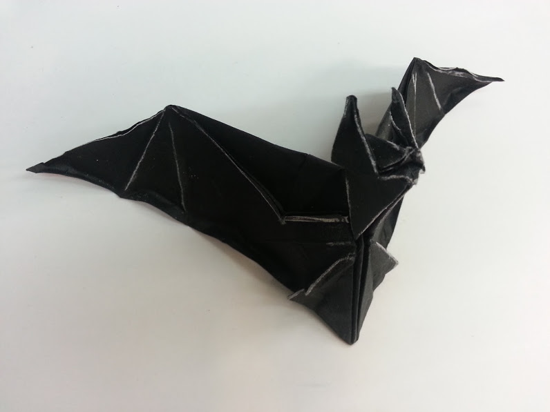 origa mania origami fledermaus jeremy schafer. Black Bedroom Furniture Sets. Home Design Ideas