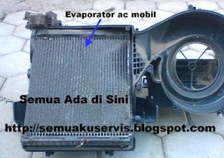 Evaporator ac mobil Innova kotor
