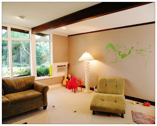 living room decals