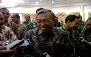 Menteri Lingkungan Hidup Gusti Muhammad Hatta