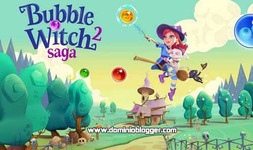 Rompe todas las burbujas en Bubble Witch 2 Saga