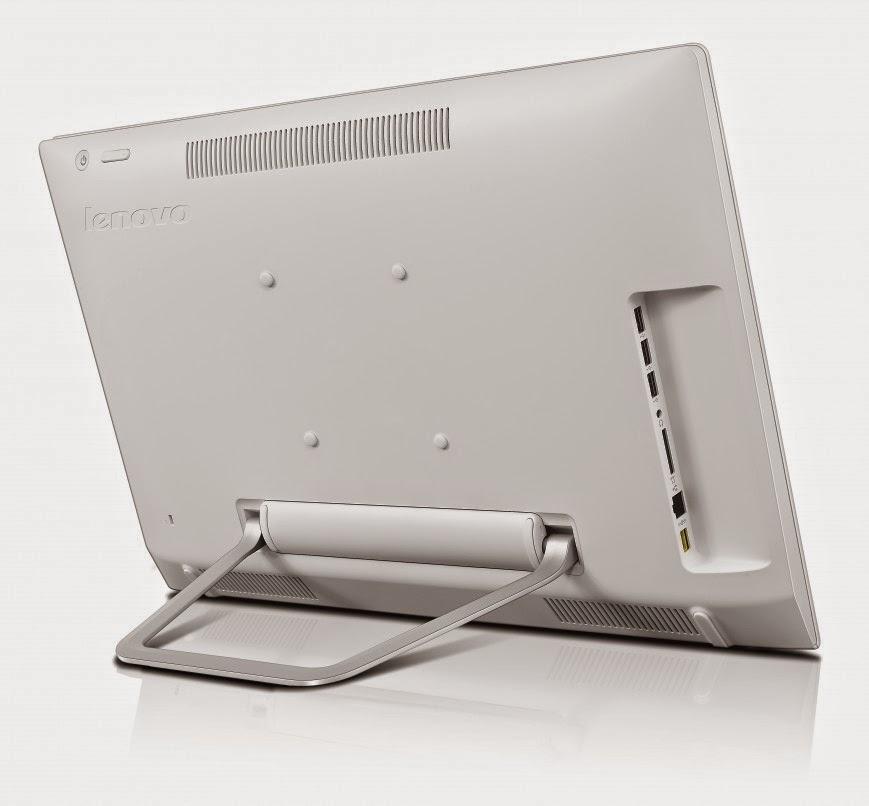 задняя сторона моноблока Lenovo N300