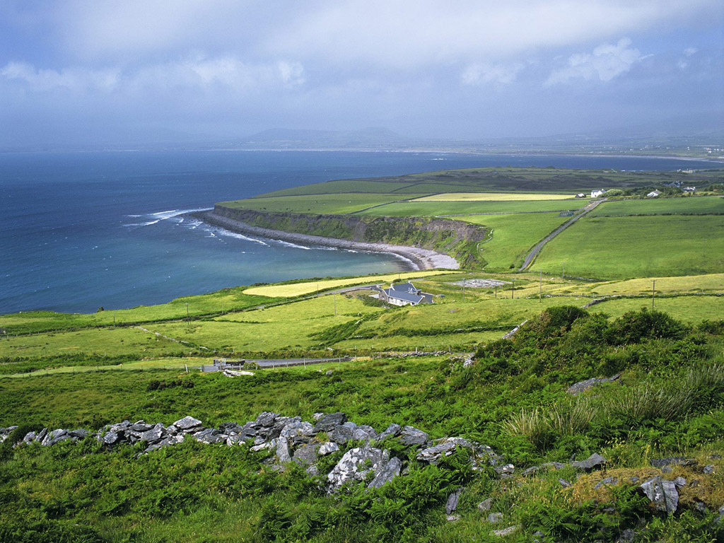 Ireland LandscapeWest Coast Landscape Wallpaper
