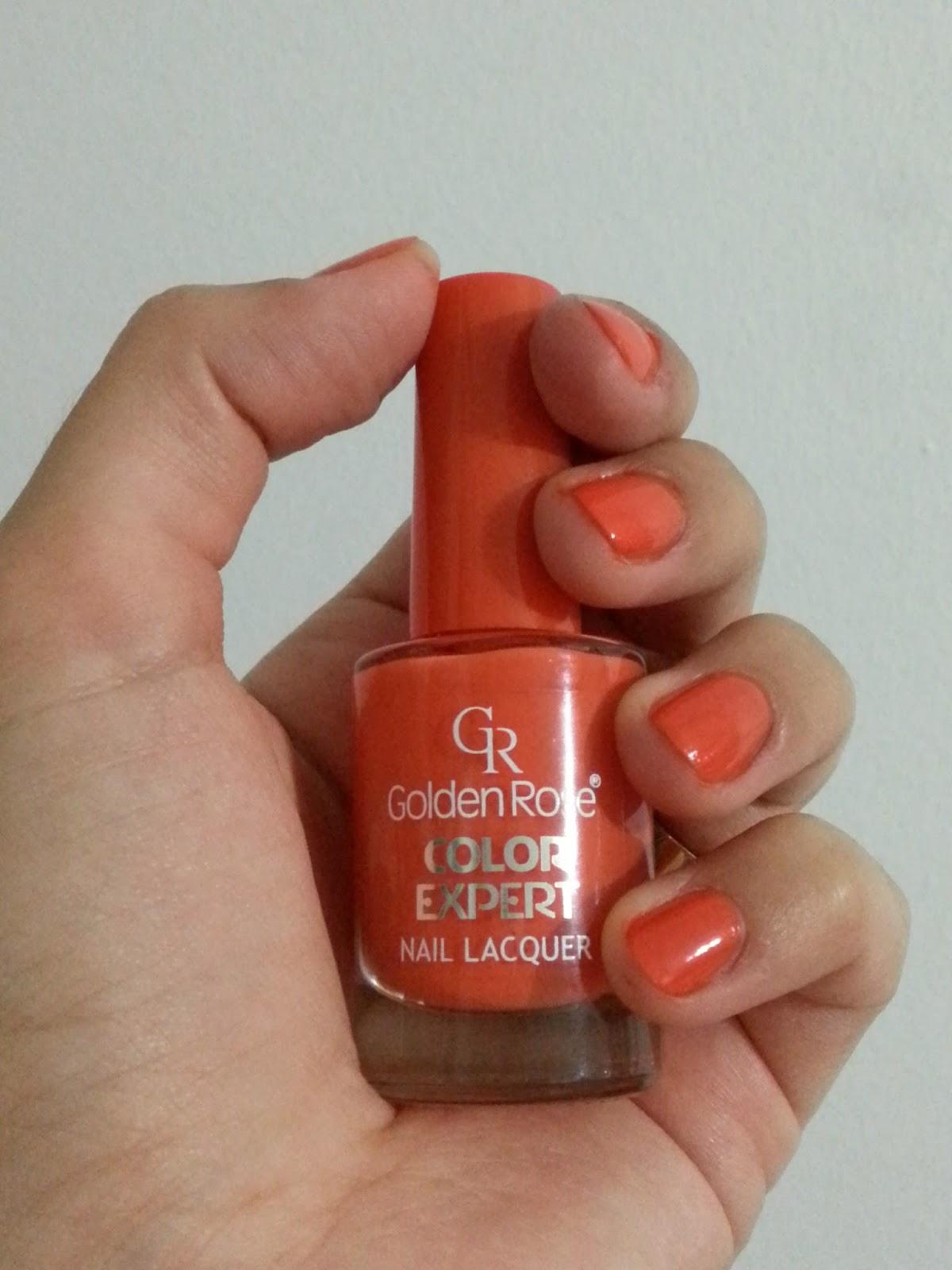 Golden Rose Colour Expert Oje nasıl
