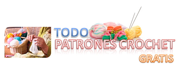 TODO PATRONES CROCHET GRATIS PASO A PASO ESQUEMA Y GRAFICOS