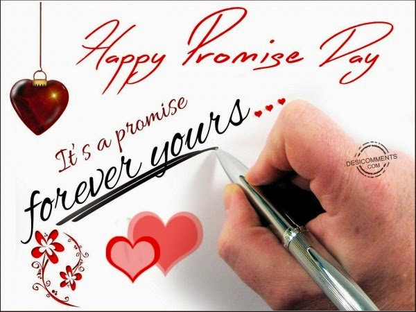 """""""Happy promise day images,graphics,pictures"""""""
