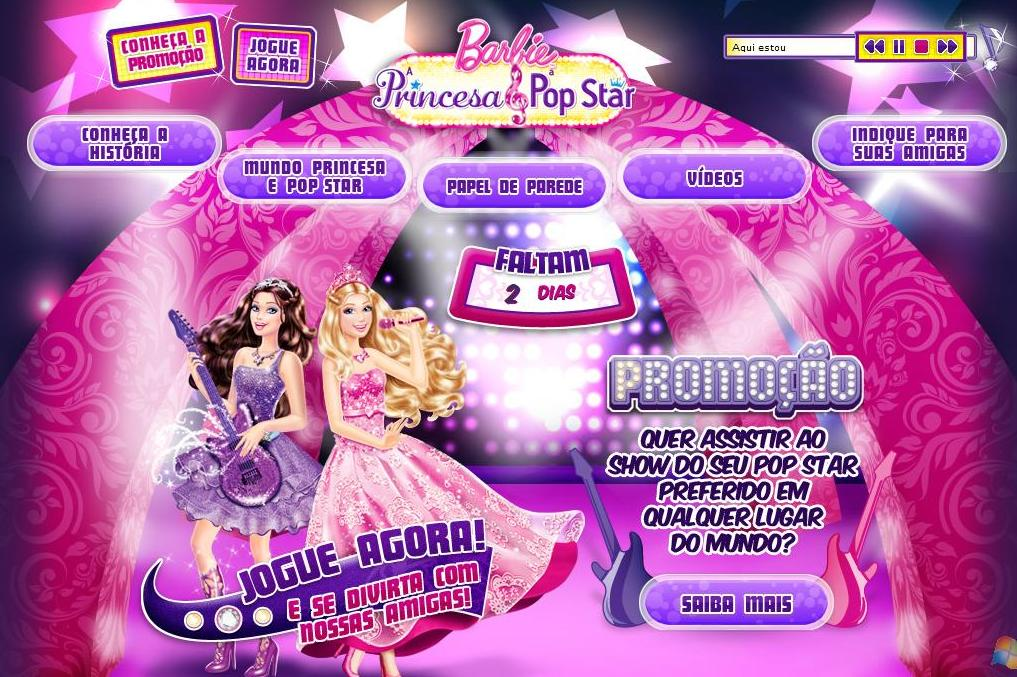 Barbie A Princesa Pop Star Chega Nas Lojas