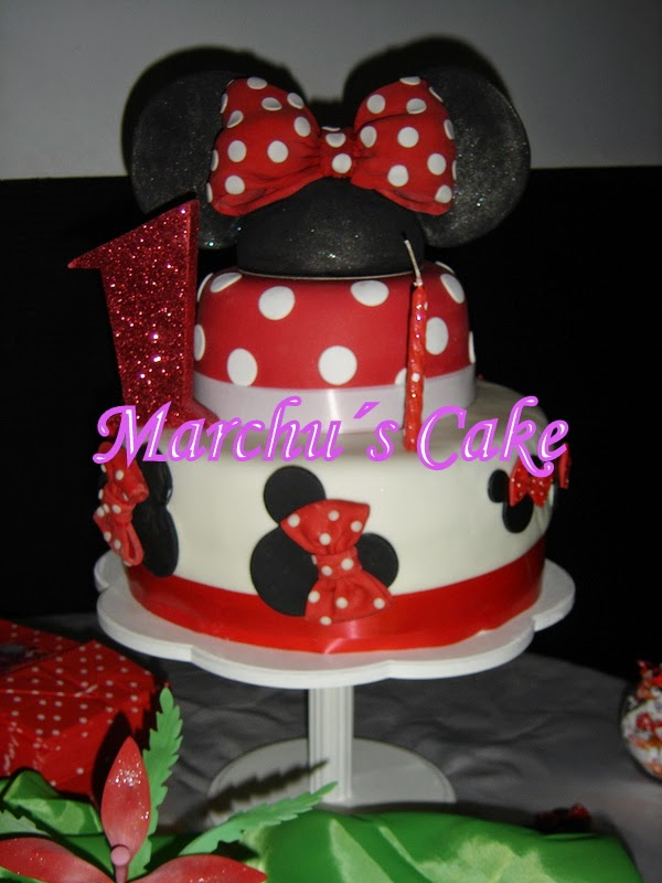 "Torta decorada ""Minnie"""