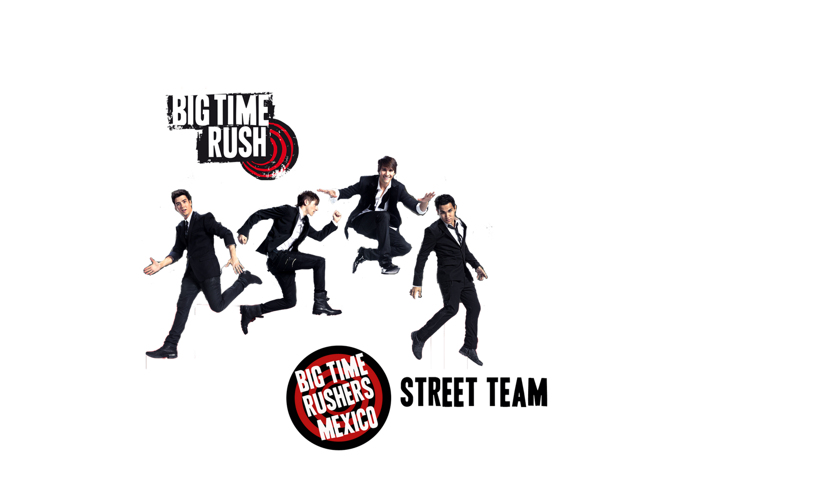 Big Time Rushers México Street Team