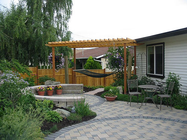 Backyard Deck Design : many inner courtyard and patio design ideas backyard patio designs