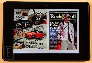 Front shot of Kindle Fire HDX