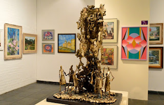 As duas exposições podem ser vistas na Casa de Cultura até 30 de maio