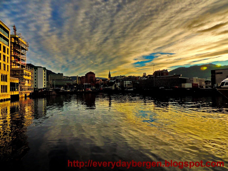 Bergen sky