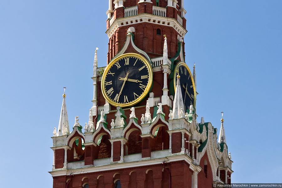 Куранты на Спасской башне | The Clock on the Saviour (Spasskaya ) Tower