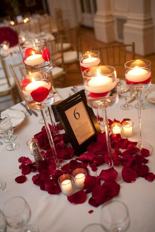 31 centros de mesa para boda con velas todo inspiraci n - Precios de centros de mesa para boda ...