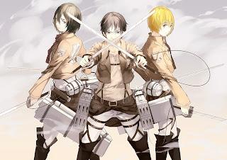 Shingeki no Kyojin anime accion
