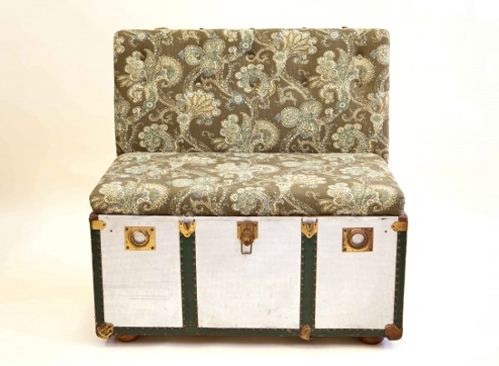 Safari Fusion blog   Pre-loved trunks, suitcases and wash tubs reborn as quirky seating in South Africa
