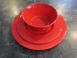 Red Dishes for Christmas Still Available