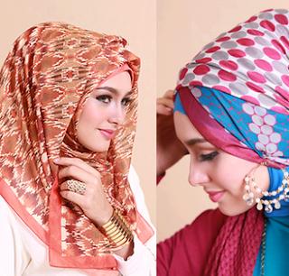 Fashion Hijab Modern untuk Lebaran