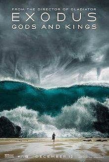 Exodus: Gods and Kings (2014) English Movie Poster