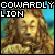 I like the Cowardly Lion