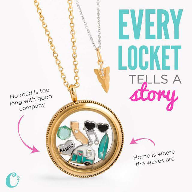 Family Summer Vacation Origami Owl Living Locket available at StoriedCharms.origamiowl.com