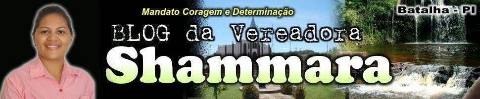 Vereadora Samara