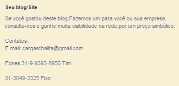 Tenha seu Blog/Site