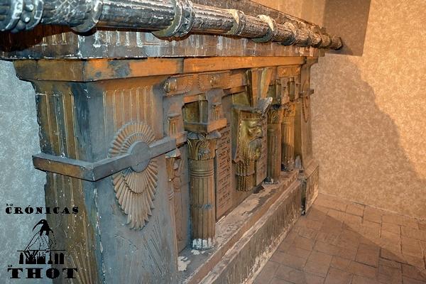 El 'arca de la Alianza' de la basílica dels Sants Just i Pastor