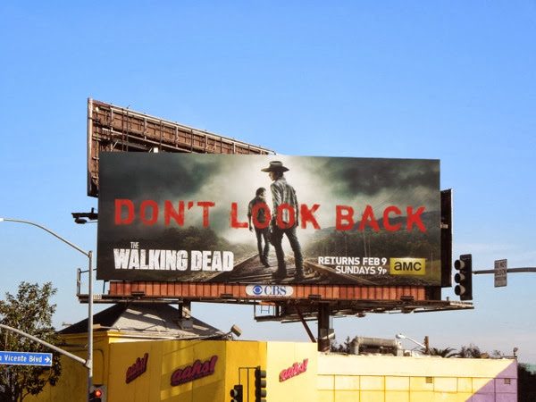 Walking Dead midseason 4 billboard
