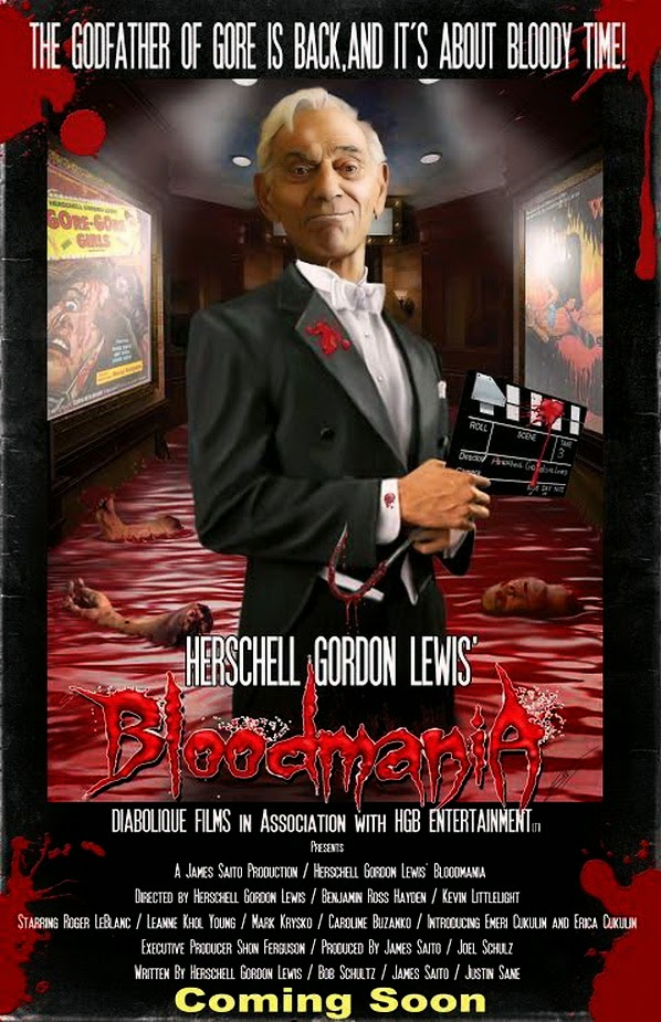 "DIABOLIQUE FILMS Proudly Presents Our New Horror Movie ""BLOODMANIA"""