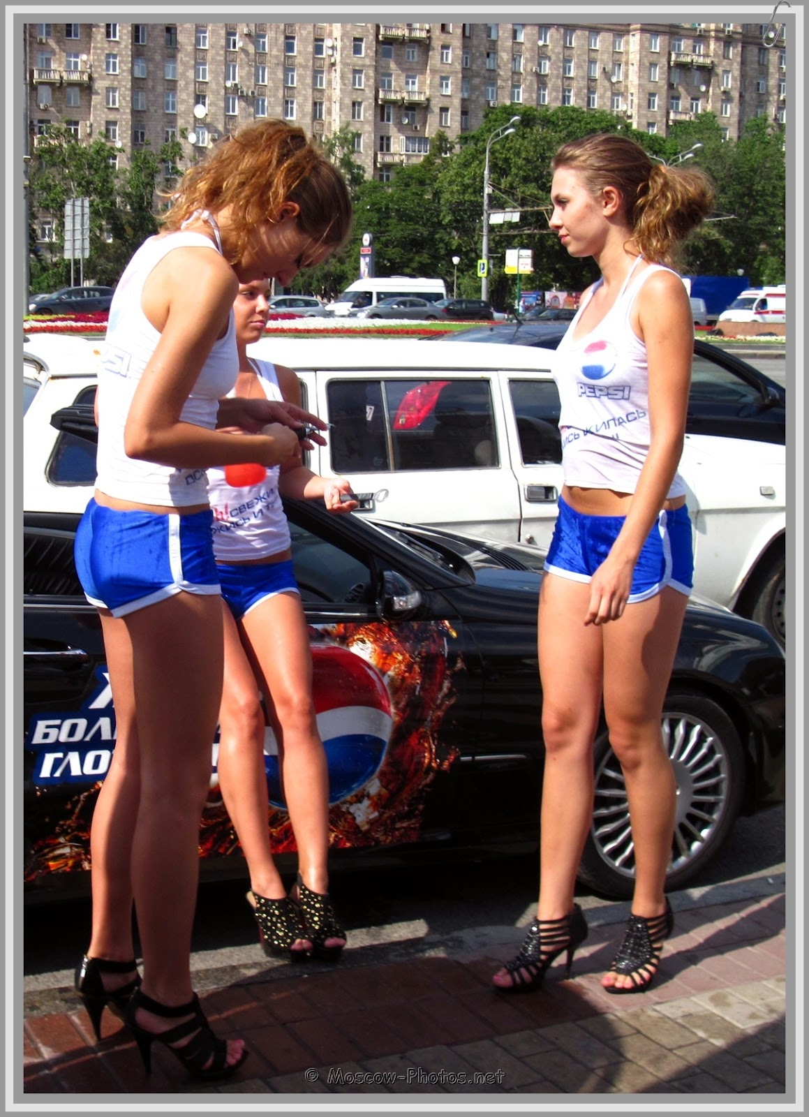 High Heels Moscow Pepsi Girls