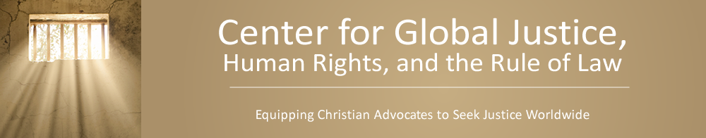 Center for Global Justice, Human Rights, and the Rule of Law