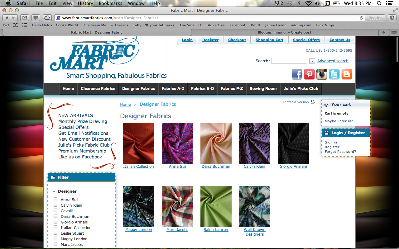 Designer deals club for hancock -  5 Trim Fabric I Really Like This Online Shop And Have Purchased From Them A Lot Over The Years They Have A Huge Amount Of Fabrics And In Almost Every