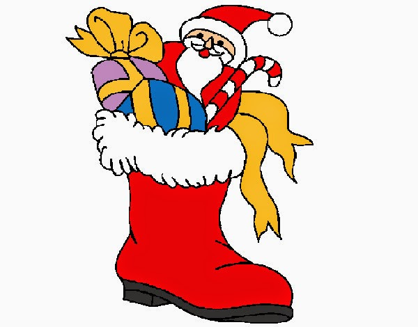 Gifs y fondos pazenlatormenta navidad gorros navide os for Dibujos de navidad pintados