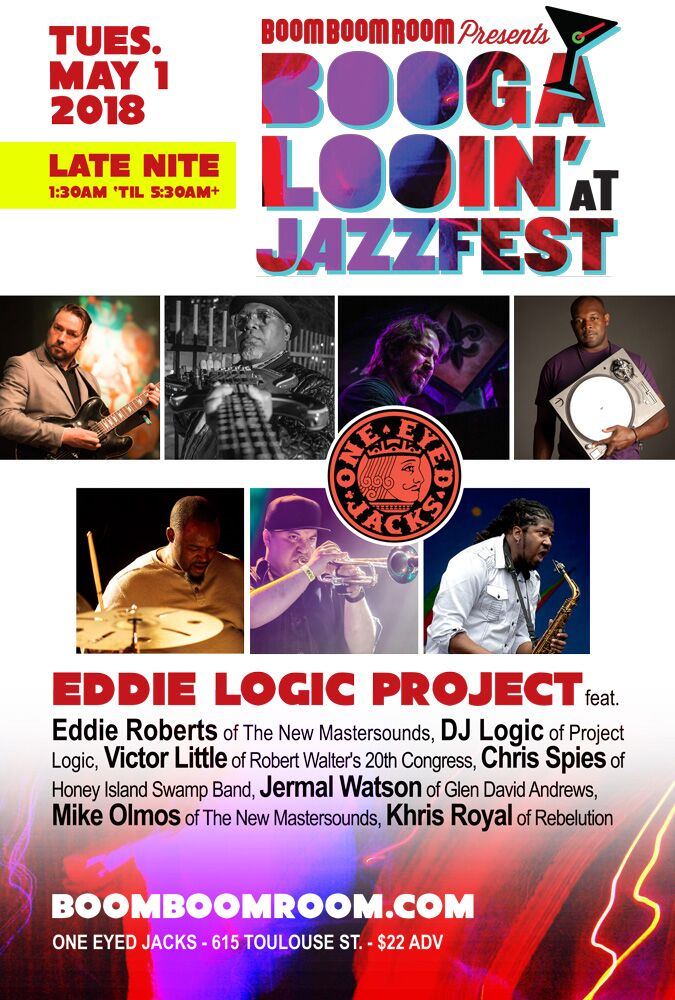 5/1: THE EDDIE LOGIC PROJECT