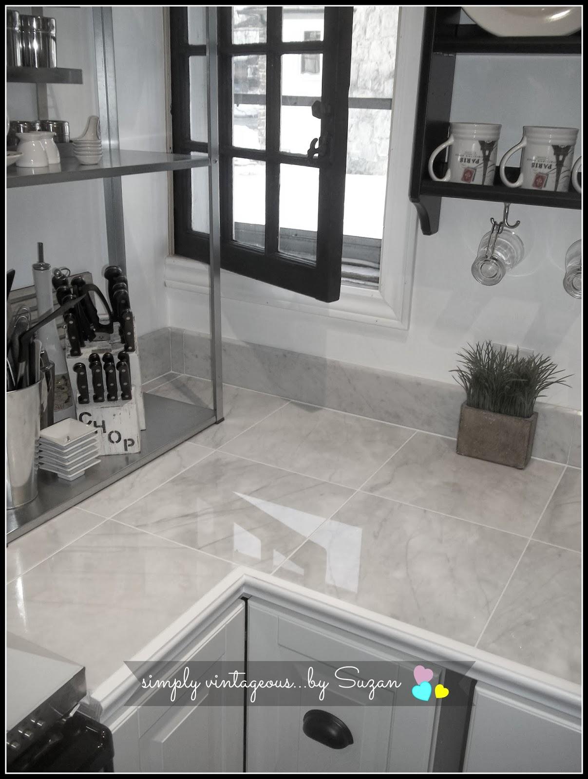 marble, tiles, countertop