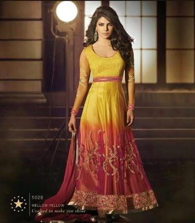 Wear Best Traditional Dresses On Eid 2014 | Best Indian Eid Dress ...
