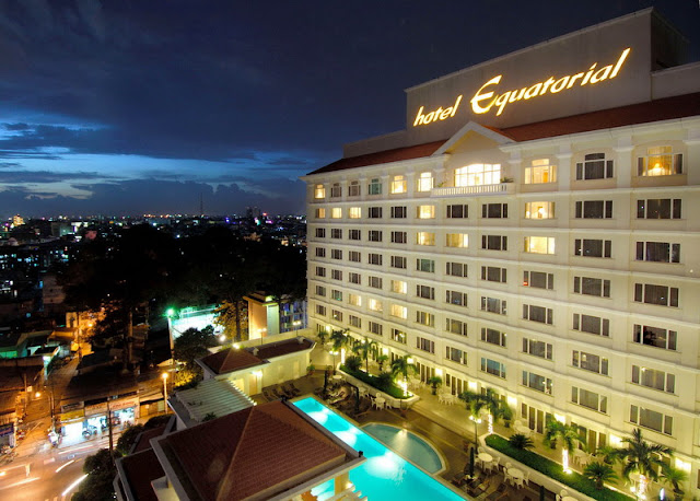 Free holiday to Ho Chi Minh City Vietnam for premium beautiful hotel equatorial
