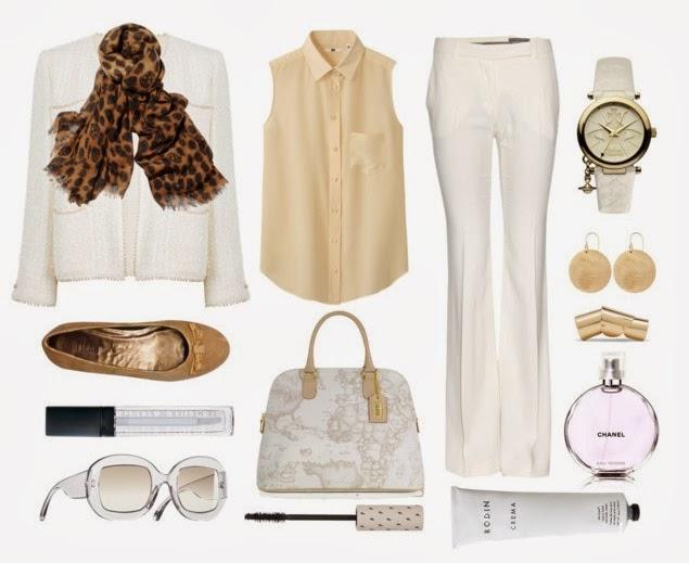 Resultado de imagen para outfit blanco y plateado