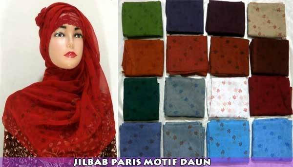 jilbab-paris-segi-empat-motif-daun
