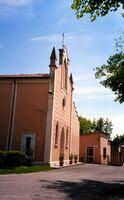 Villagrossa, frazione di Castel d'Ario, Chiesa di Santo Stefano