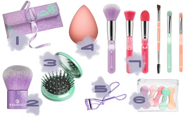Preview - essence Bloom Me Up Tools - limitierte Kollektion (LE) - März 2014