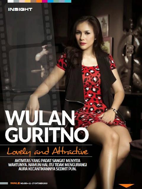 Wulan Guritno for Male Magazine October 2013