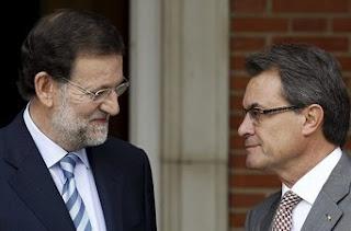 Rajoy y Mas, el pulso independentista al Estado