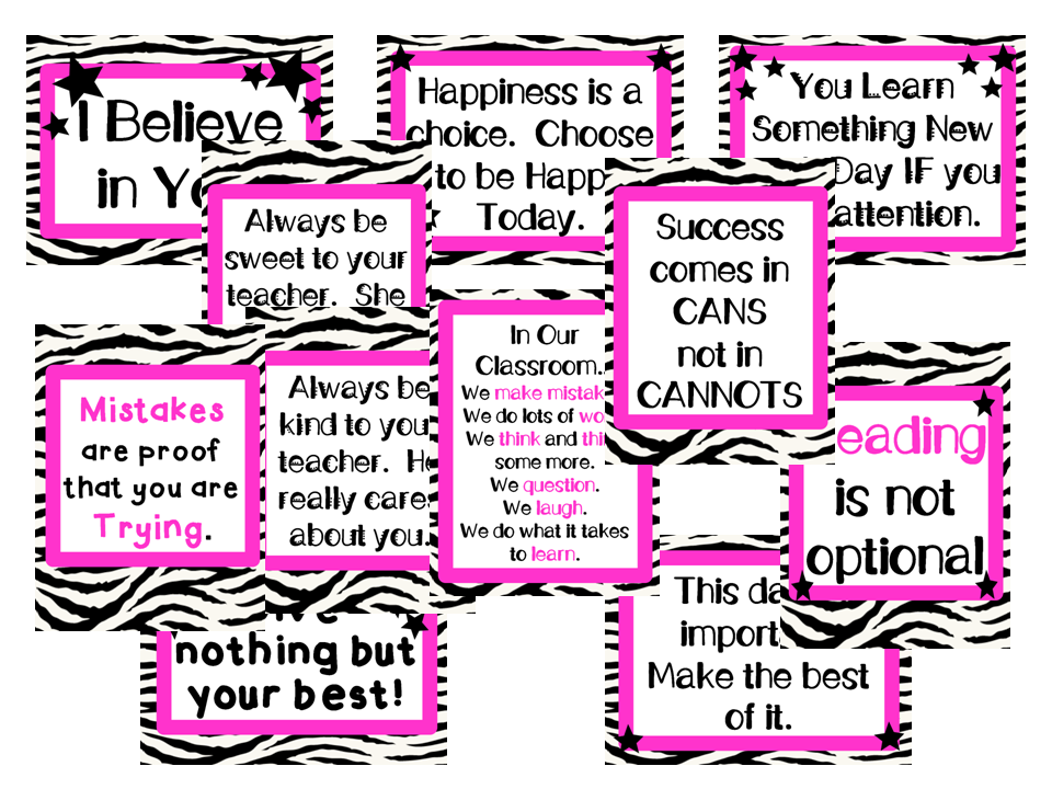 testing encouragement for kids | just b.CAUSE