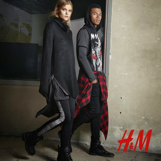 H&M Divided 80's Iconic Pieces Fall/Winter Lookbook 2014
