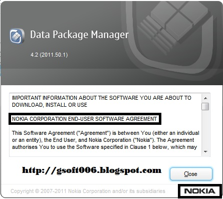 nokia data package manager with crack Anon