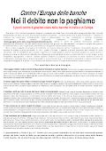 NOI IL DEBITO NON LO PAGHIAMO