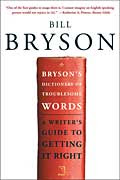 Cover of Bryson's Dictionary of Troublesome Words